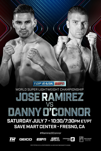 The Champ Comes Home: Jose Ramirez to Defend WBC Super Lightweight Title Against Danny O'Connor