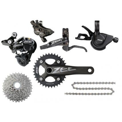 Shimano Zee 10 speed groupset