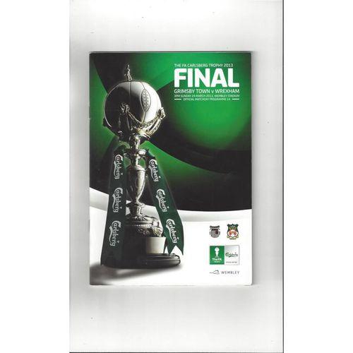 Trophy Final Football Programmes