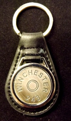Cartridge Head Stamp Key Ring Fobs