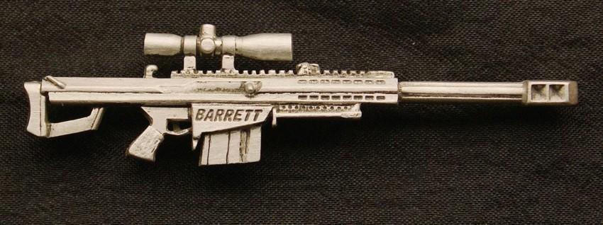American High Definition Gun Lapel Pins