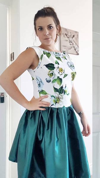 McCalls 6092 Bodice and gathered skirt hack