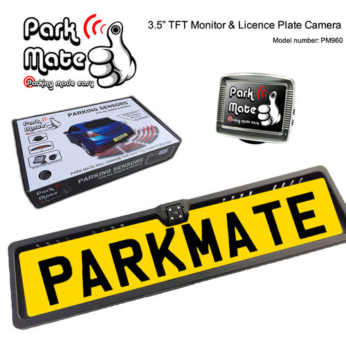 3.5'' TFT Monitor & Licence Plate Camera PM960
