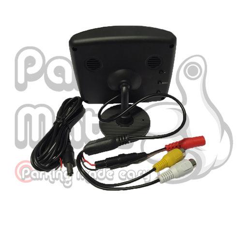 3.5'' TFT Monitor & Licence Plate Camera PM960