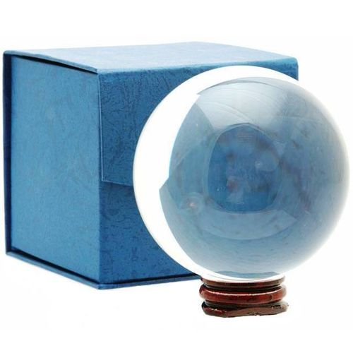 10cm Crystal Ball With Base