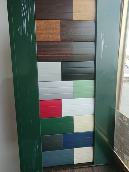 New Roller Shutter Colour Samples