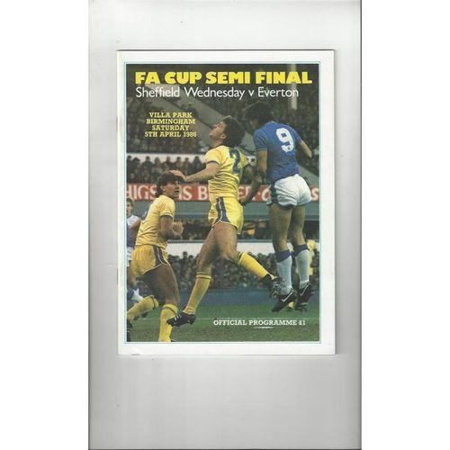 FA Cup Semi Final Football Programmes