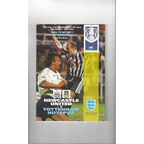 FA Cup Semi Final Football Programmes