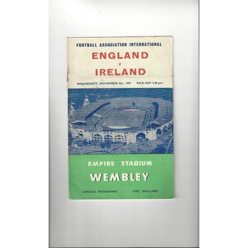 Ireland Away Football Programmes