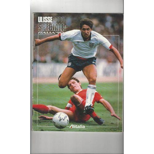 1990 World Cup Football Magazine