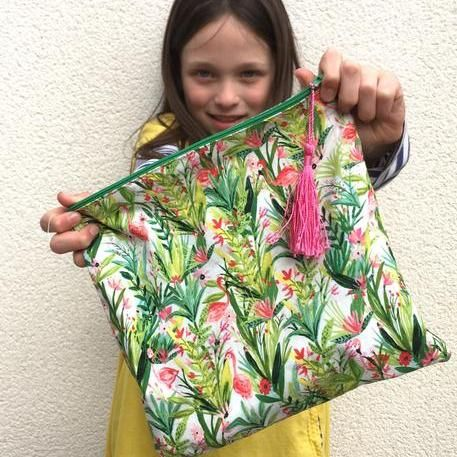 Kids Summer Sewing - Make a Wash Bag Workshop