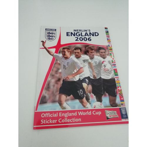 2006 WORLD CUP Bundle of Wall charts & Stickers Book