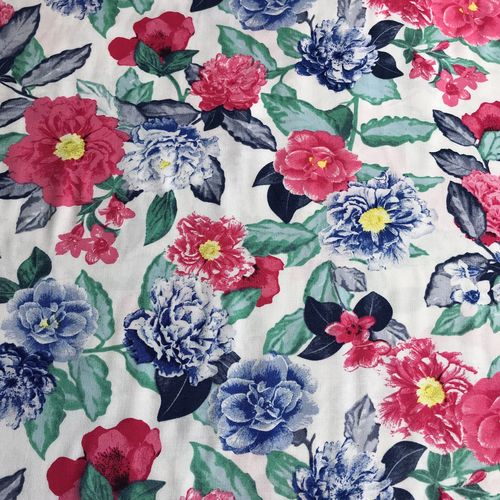 Holiday Florals Woven Viscose