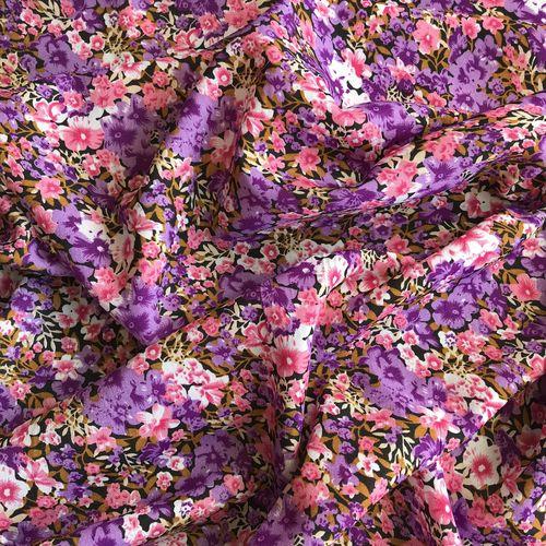 Flower Show Lilac Spun Polyester
