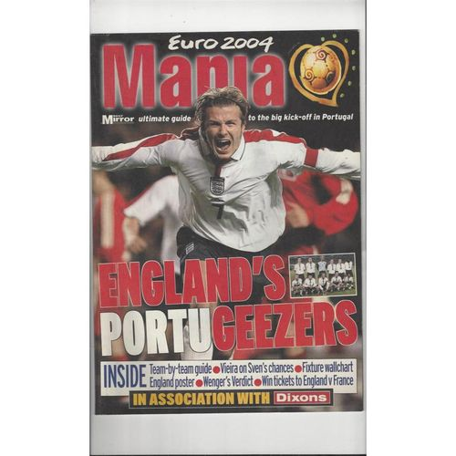 Euro 2004 Daily Mirror Guide