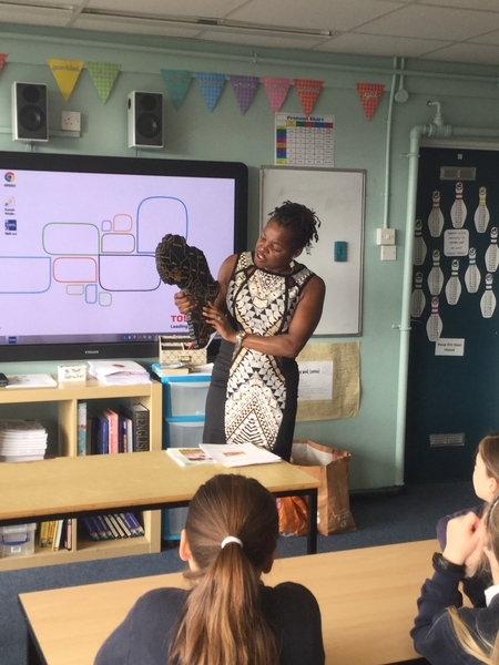 Cultural Workshop at Our Lady of Pity Primary School