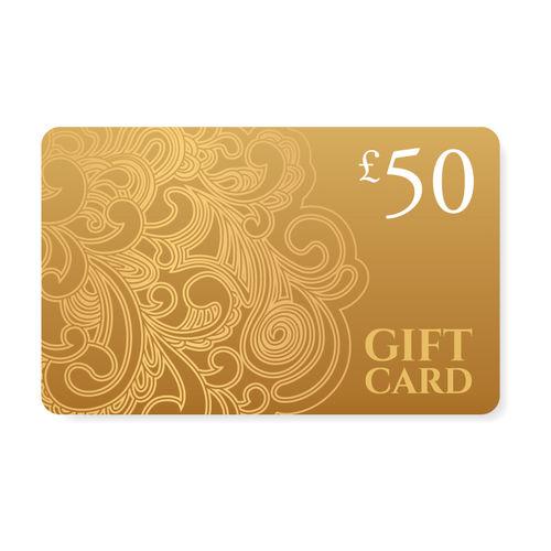 £50.00 Gift e-Voucher