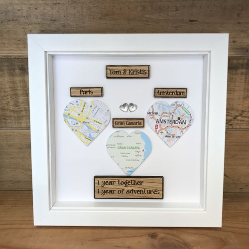 Special locations map frame