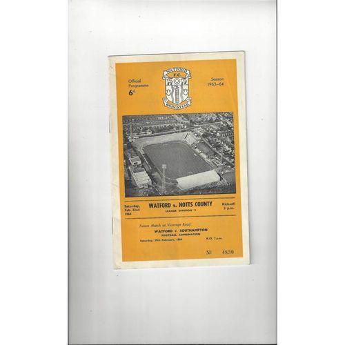 Notts County Away Football Programmes