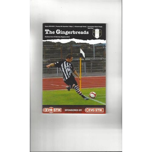 Grantham Town Home Football Programmes