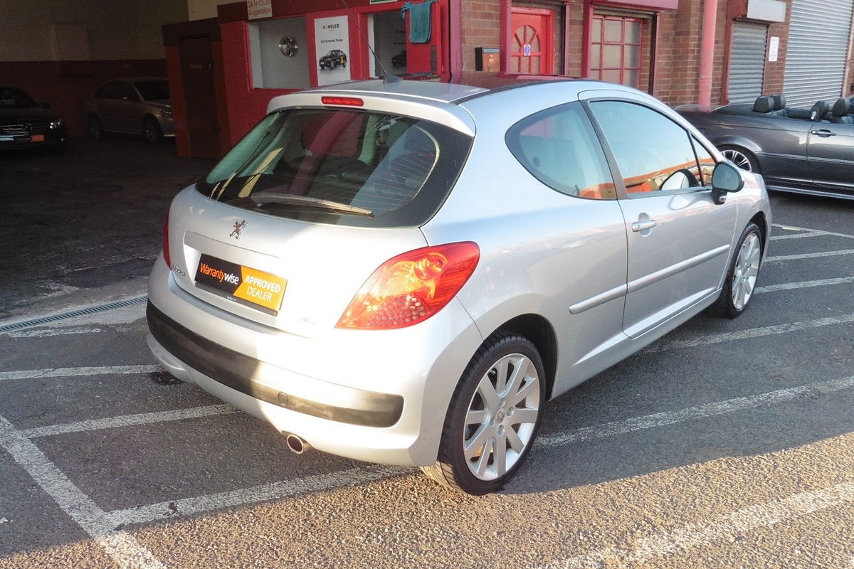 Peugeot 207 GT 1.6 Turbo 150BHP - Full Service History - Half Leather Interior