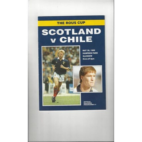 Scotland Home Football Programmes