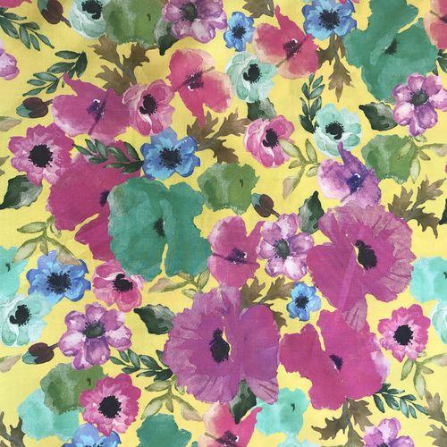 Lady McElroy Poppy Harvest Cotton Lawn