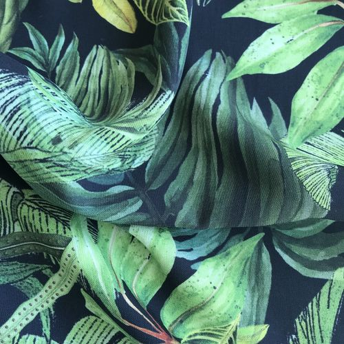 Lady McElroy Foliage Canopy Lena Crepe 1.84m Remnant