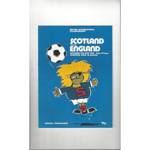 England Away Football Programmes