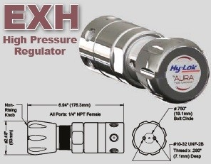 High Pressure CONCOA AURA REGULATORS
