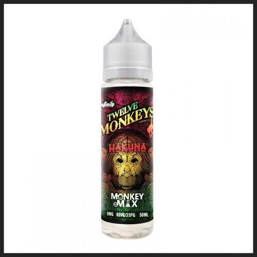 Twelve Monkeys 50ml Shortfill 0mg