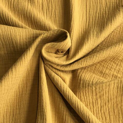 Gold Double Cotton Gauze