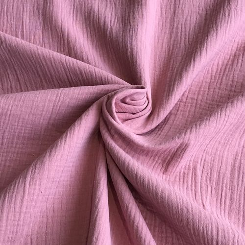 Pink Double Cotton Gauze