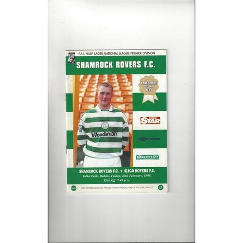 Irish League & Cup Football Programmes