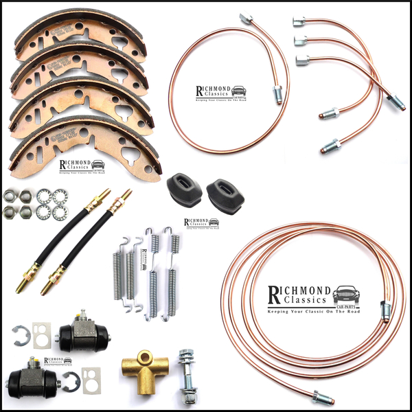 Classic Mini Copper and Flexi Brake Pipe Kits