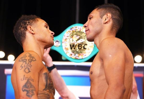 Weigh-In Results:   Prograis vs. Velasco / Lopez vs. Silva