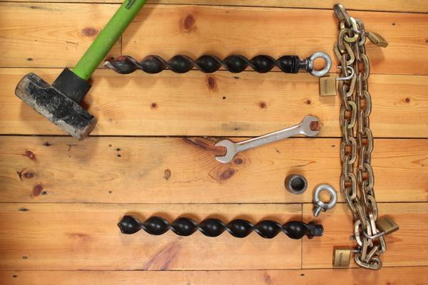 Spirafix security anchors