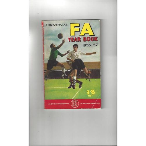 1956/57 The Official FA Year Book