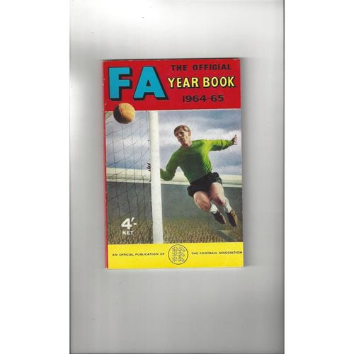 1964/65 The Official FA Year Book