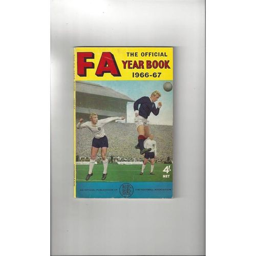 1966/67 The Official FA Year Book