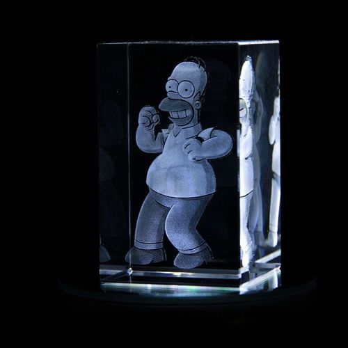 JUST IN - 80x50x50 Homer Simpson
