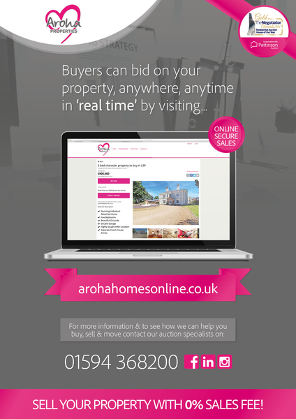 AROHA ENTER THE WORLD OF AUCTIONS.......