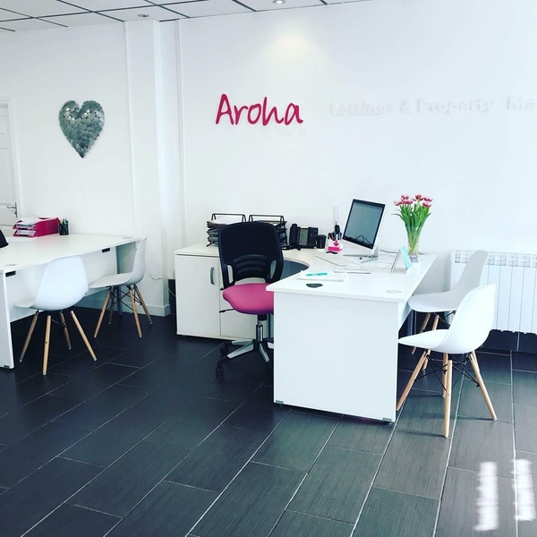 AROHA MOVES TO NEW OFFICE!