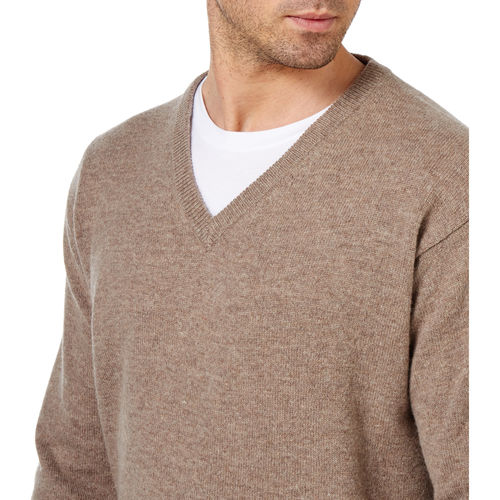 Woolovers Pure Lambswool V Neck Jumper
