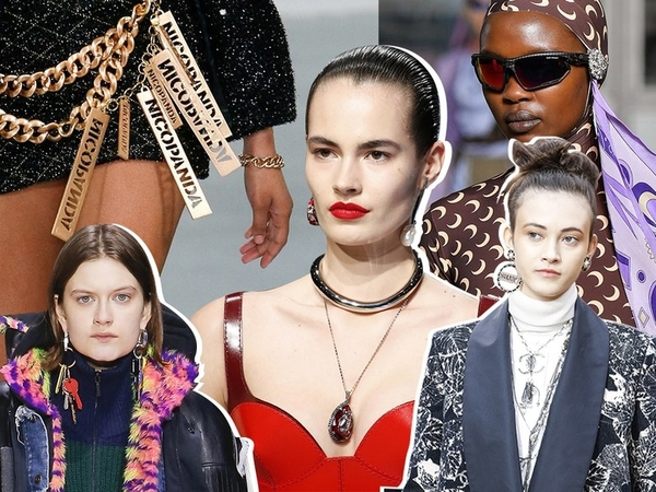 Get the Vogue Look- Chokers Still In!