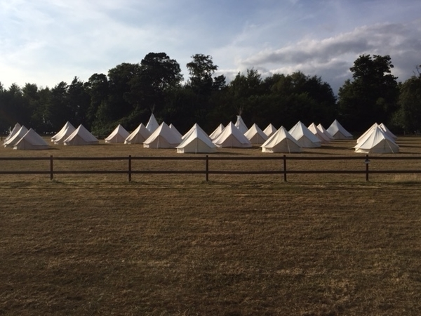 Another Wedding and 28 Tents for guest accommodation - July 2018