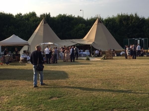 Our Stunning Tipi Marquee