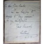 Lawrence John Lumley Dundas, 2nd Marquess of Zetland, 1939 Autograph