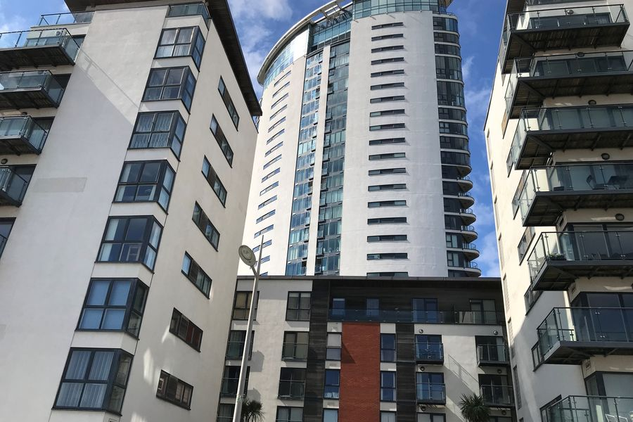 Meridian Quay - Wonderful Location Overlooking the Wharf, 4 Star, 2 Bedrooms