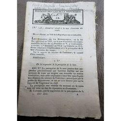 Bulletins Des Lois 22  (1800)